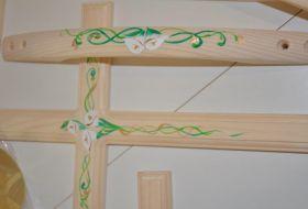kit legno calle dipinto a mano