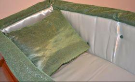 Prestige bicolore verde avorio