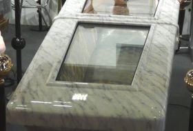 frigo spallato finitura marmo carrara.JPG