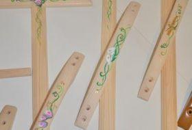 kit legno dipinti a mano