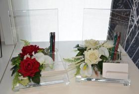 portafoto santini e penne floreale 1 e 2