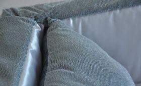 prestige bicolore aderente grigio perla antracite agento dettaglio