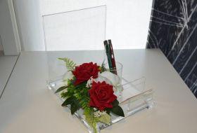 portafoto santini e penne floreale 2