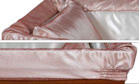 Prestige aderente rosa - dettaglio imbottitura