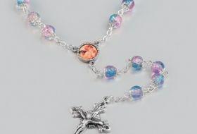 corona rosario vetro opalescente