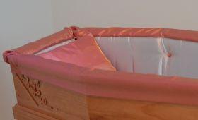 Preziosa aderente bicolore grigio perla rosa antico dettaglio