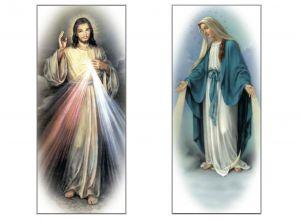 Immagini Cristo e Madonna per rollup