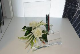 portafoto santini e penne floreale 1