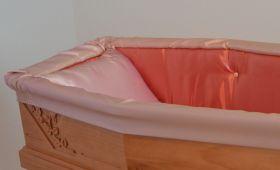 Preziosa aderente bicolore rosa antico rosa cipria dettaglio
