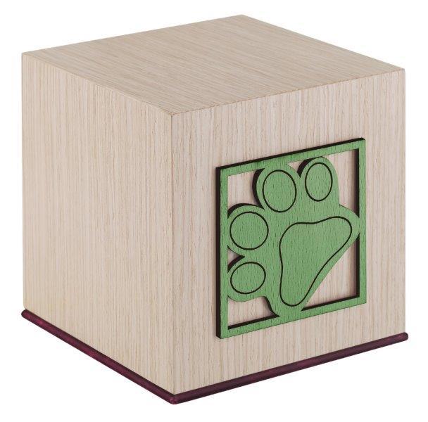 urna orma per ceneri animali misure interne 11x11x11h